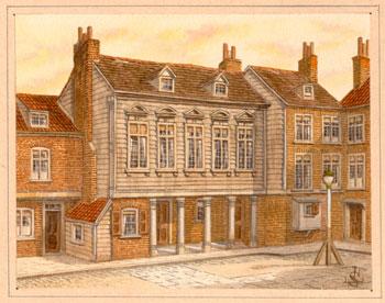 Sweet-Tempered Haslehust Vintage Print Art Prints Smolletts Lodging St John Street Edinburgh Evident Effect