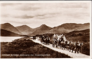 Coaches between Inversnaid and Stronachlachar