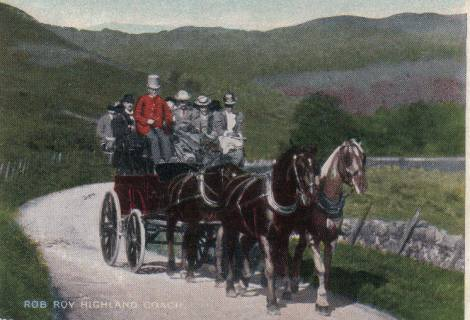 The Coach from Aberfoyle to the Trossachs.