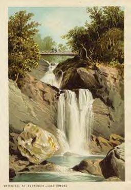 The Falls of Inversnaid