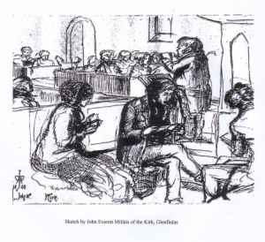 Millais Sketchbook: Trossachs Church