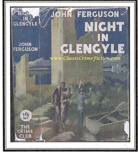 The original cover of one of John Ferguson's novels.