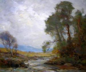 "William Miller Frazer RSA (1864-1961) ""On the Dochart"" [image: Anthony Woodd]"