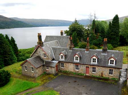 Royal Cottage, Loch Katrine