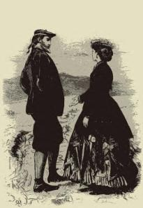 Millais: Illustration for Phineas Finn